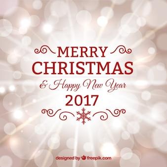 Happy new year minimalist red design