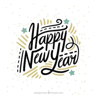 Happy New Year Font 36
