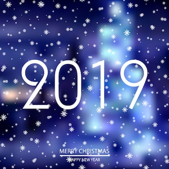 Happy New Year or Christmas background.