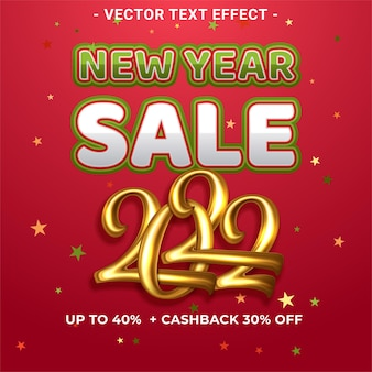 Happy new year super sale banner template with gold theme design