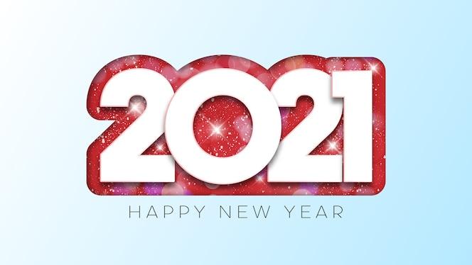 felice anno nuovo disegno di testo.