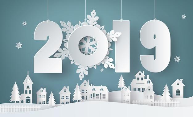 Happy new year and winter season ,