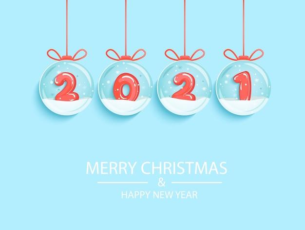 Happy  new year wishing merry christmas