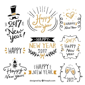 Happy New Year 2017 Vectors Photos And Psd Files Free Download