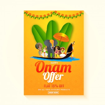 Happy onam sale.