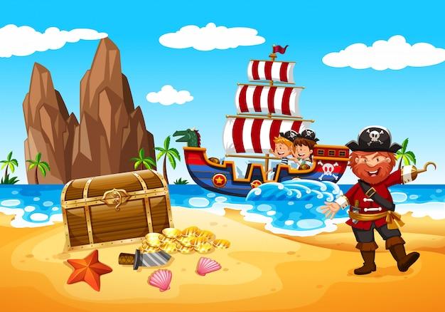행복한 해적과 아이들