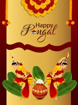 Happy pongal poster
