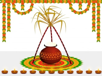 Pongal vectors photos and psd files free download happy pongal wishes or greeting background design m4hsunfo