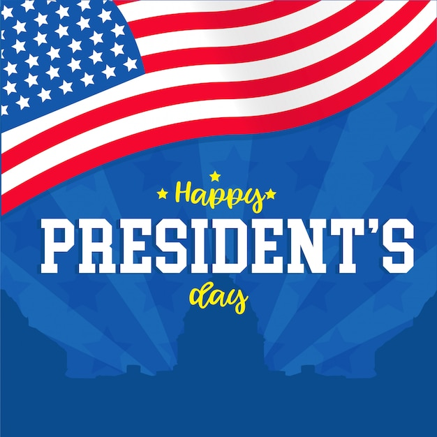 Happy president day card