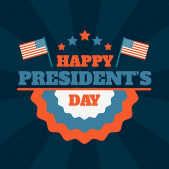 Happy presidents day message