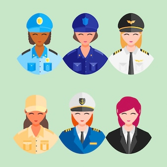 Happy profession worker day 1 may employe icon