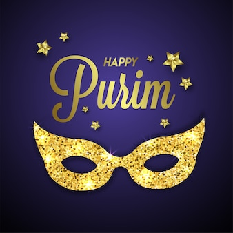Happy purim background.
