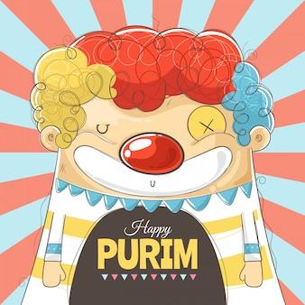 Happy purim открытка, плакат, флаер, рамка для текста