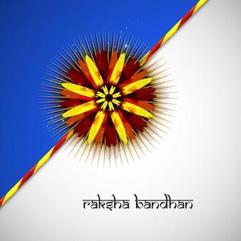 Happy raksha bandhan abstract background