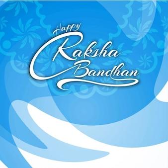 Happy raksha bandhan text bakground
