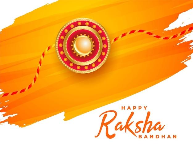 Happy raksha bandhan traditional festival background