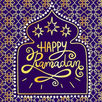 Happy ramadan background