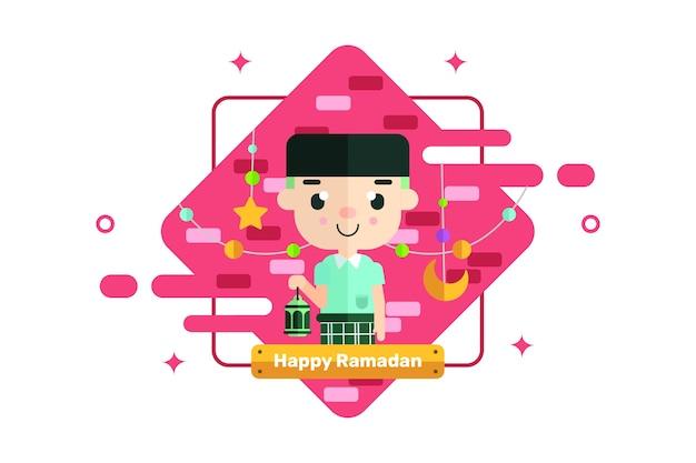 Happy ramadan greeting