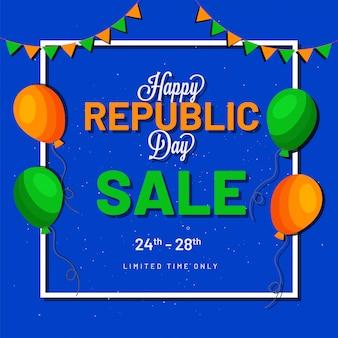 Happy republic day sale.