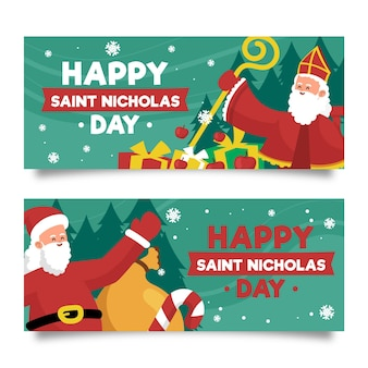 Happy saint nicholas day web banner