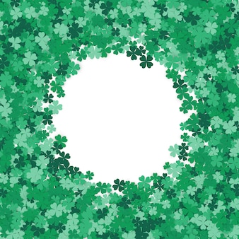Happy saint patrick's day background.