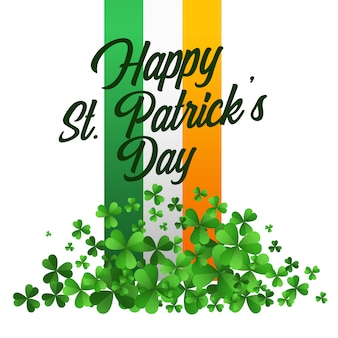 Happy saint patricks day celebration background