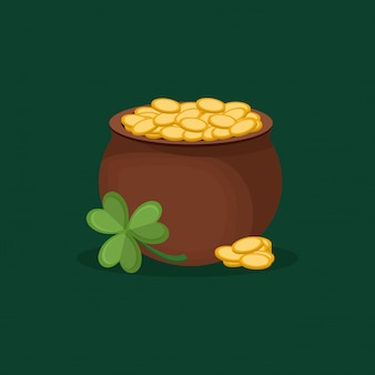Happy saint patricks day design