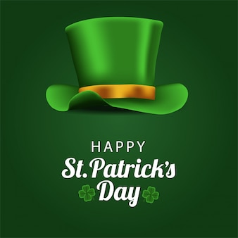 Happy st. patrick's day banner template