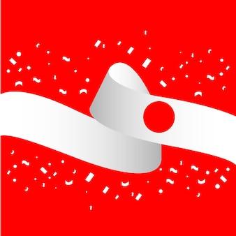 해피 스위스 독립 기념일 벡터 템플릿 디자인