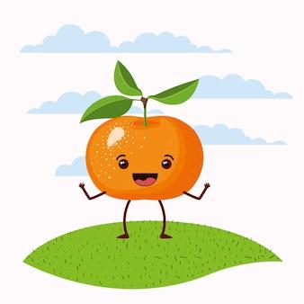 Счастливый мандарин