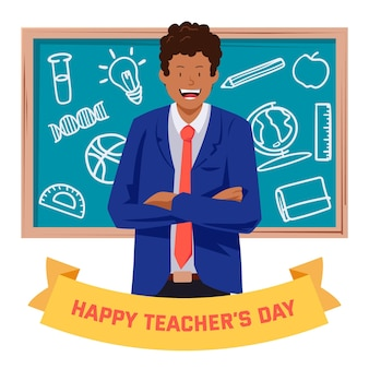 Happy teachers' day celebration