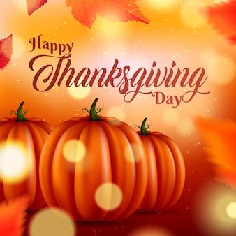 Happy thanksgiving background
