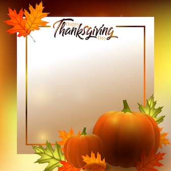 Happy thanksgiving card, background, poster