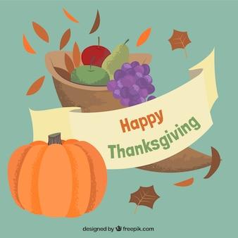 Happy card благодарения