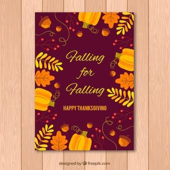 Invito di giorno di ringraziamento felice
