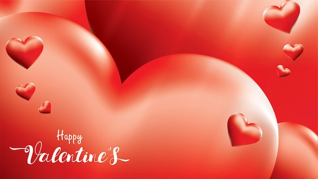 Happy valentine background