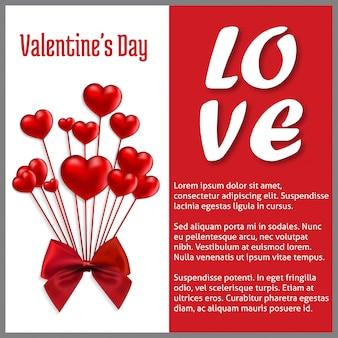 Happy valentine day love card
