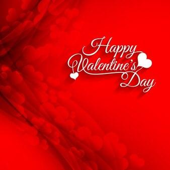 Счастливый день святого валентина красный фон