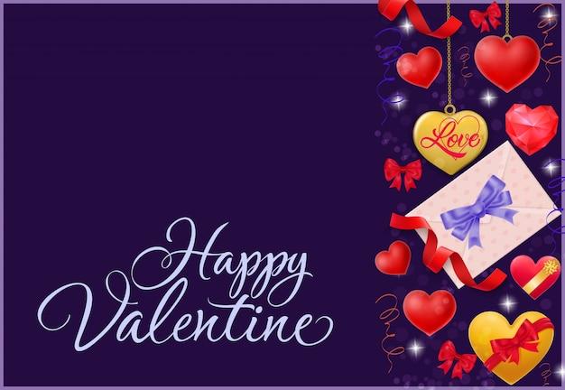 С днем святого валентина письмо с конвертом