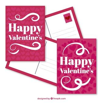 Счастливый валентина открытки пакет