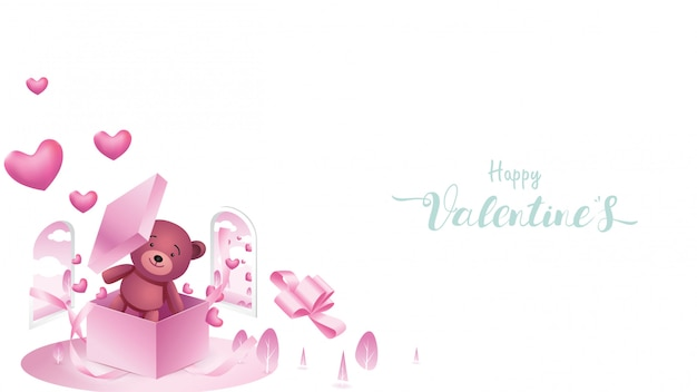 Happy valentine's background