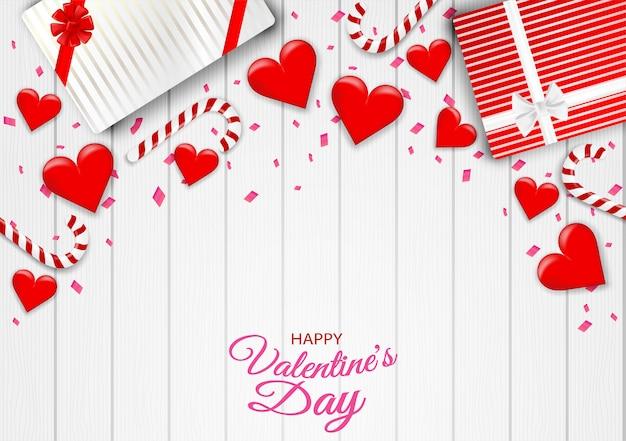 Happy valentine's day background.