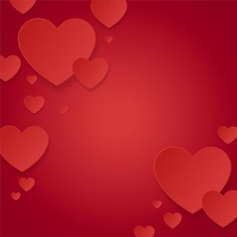 С днем святого валентина декоративный в форме сердца