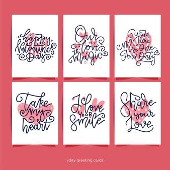 幸せなバレンタインデーの挨拶のテキストコレクション。