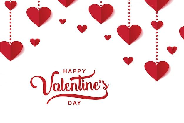 Happy valentine's day luxury elegant design
