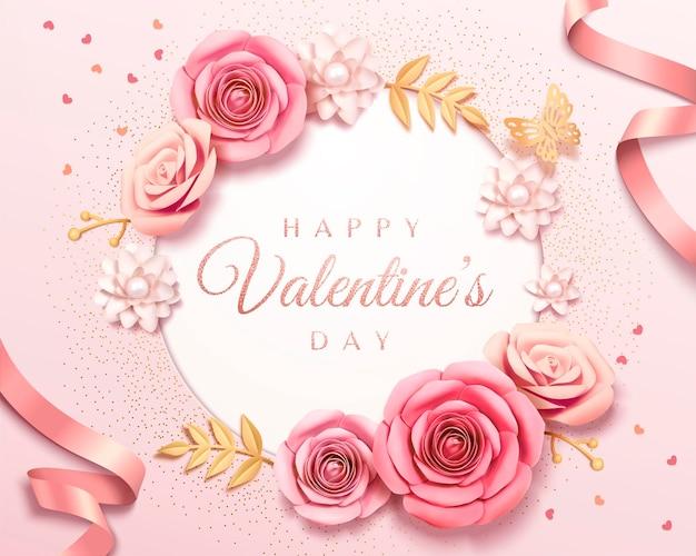 Happy valentine's day template
