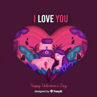 행복한 발렌타인 데이