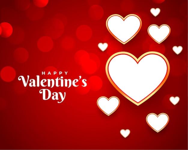 Happy valentines beautiful greeting