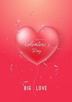 Happy valentines day design.