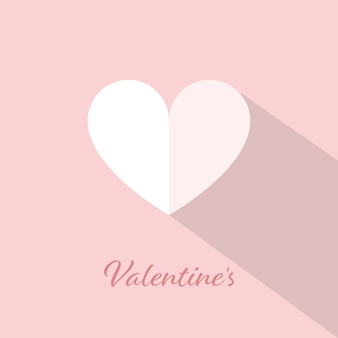 Happy valentines day greetings card design background